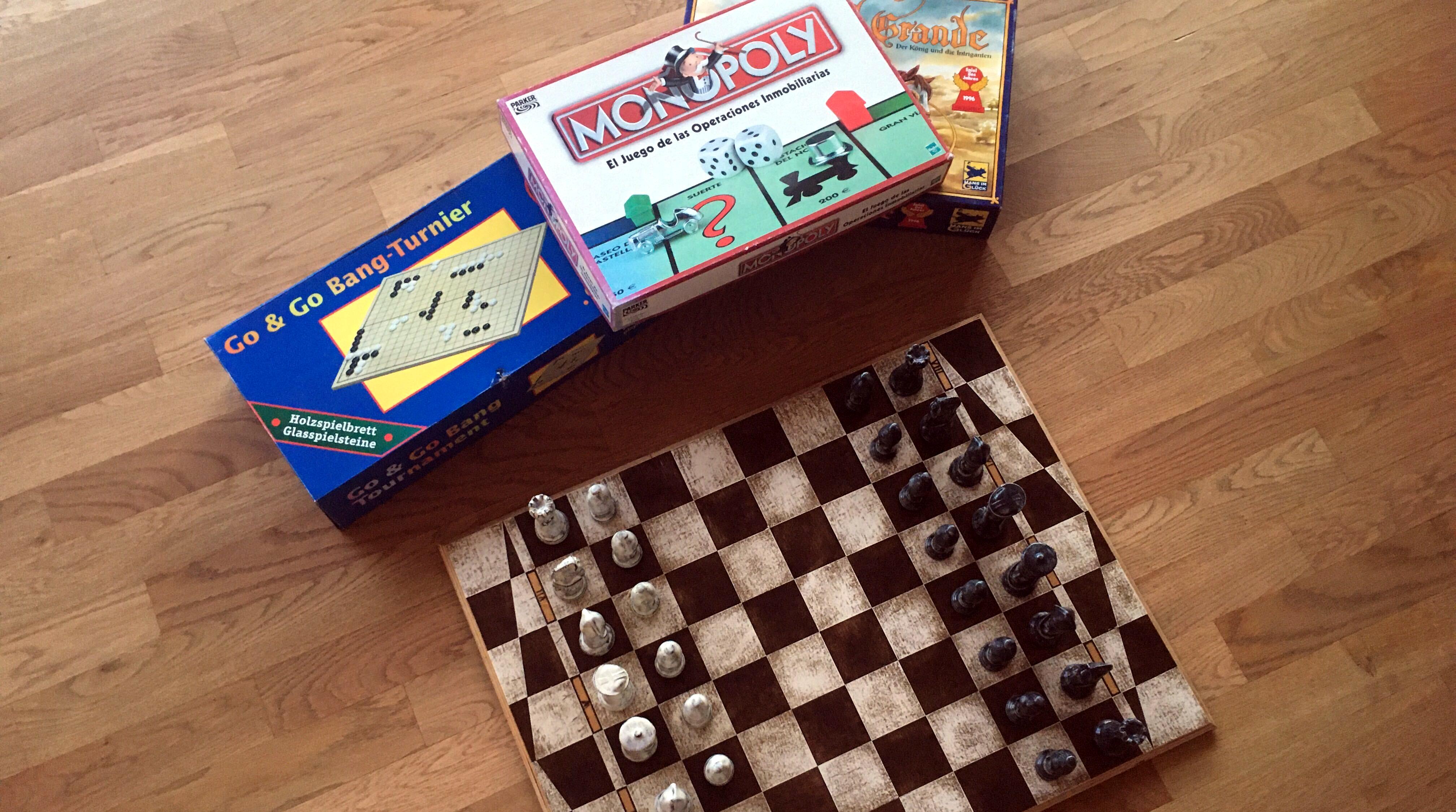 Monopoly y ajedrez